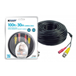 Kguard AH281B-30 30m Black camera cable