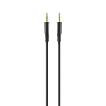 Belkin F3Y117BT1M audio cable 1 m 3.5mm Black