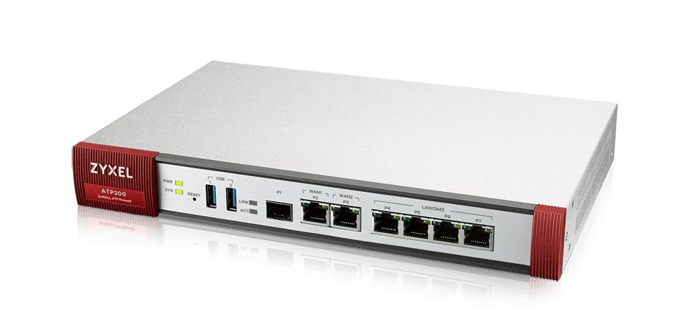 Zyxel ATP200 cortafuegos (hardware) 2000 Mbit/s Escritorio