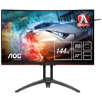 "AOC Gaming AG322QC4 computer monitor 80 cm (31.5"") Quad HD LED Curved Matt Black"