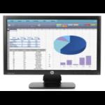 HP ProDisplay P202 20-inch Monitor (ENERGY STAR) Black