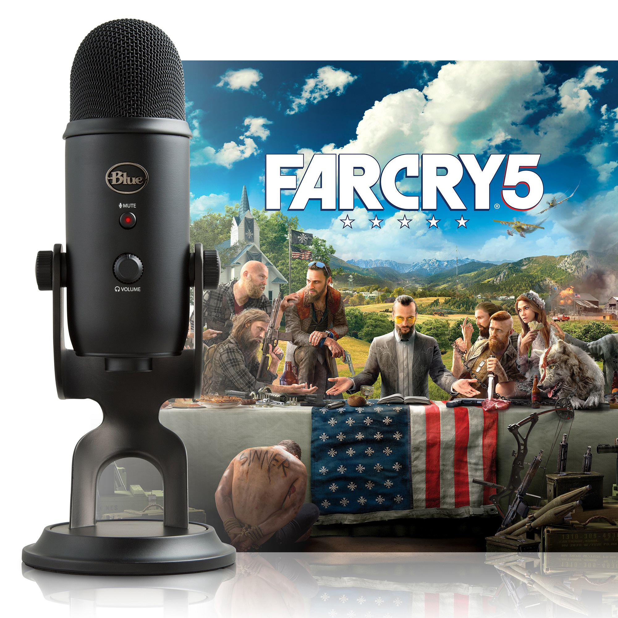 Blue Microphones Yeti Blackout/Far Cry 5
