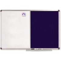 Nobo Classic Combination Board Felt/Painted Steel 1200x900mm
