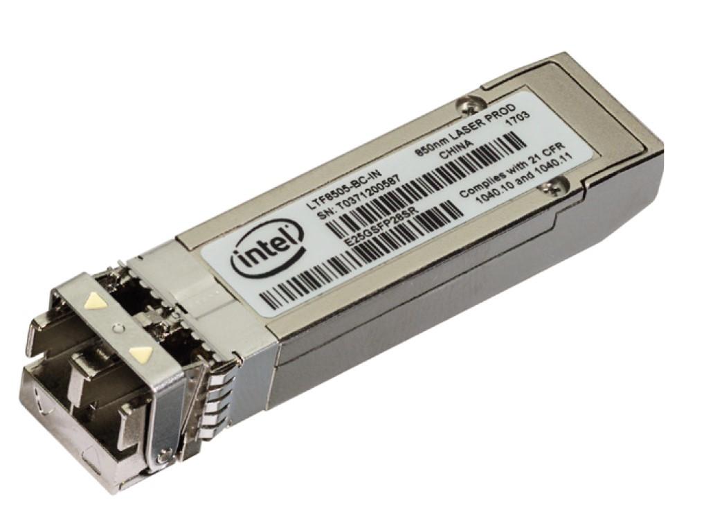 Intel E25GSFP28SR network transceiver module Fiber optic 25000 Mbit/s SFP28 850 nm