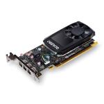 PNY VCQP400-PB graphics card Quadro P400 2 GB GDDR5