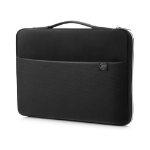 "HP 3XD38AA notebook case 43.9 cm (17.3"") Sleeve case Black,Silver"