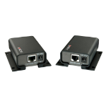 Lindy 32156 Console transmitter & receiver Black console extender