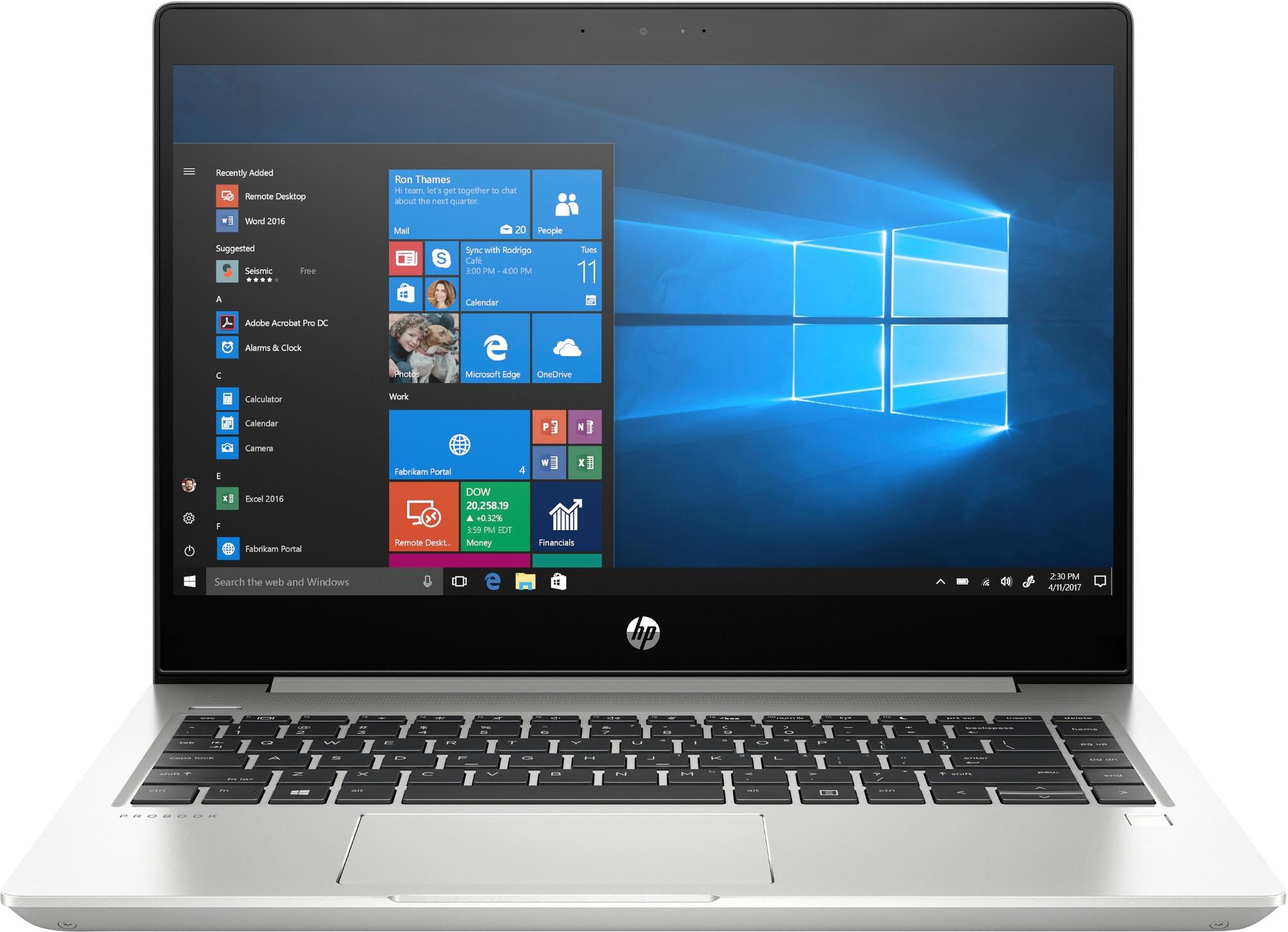 HP ProBook 445R G6 Silver Notebook 35.6 cm (14