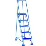 VFM 385142 5 Tread Step Light Blue