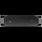 HP Z2 G4 Intel® 8ste generatie Core™ i7 i7-8700 16 GB DDR4-SDRAM 256 GB SSD Zwart Mini PC Workstation