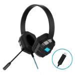 Gumdrop Cases DropTech B2 Headset Head-band USB Type-A Black, Blue