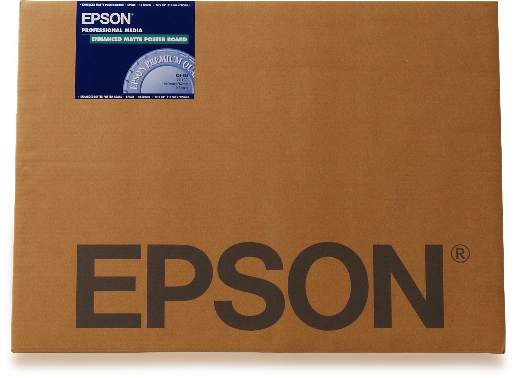 Epson Enhanced Matte Posterboard, DIN A3+, 800g/m², 20 Sheets