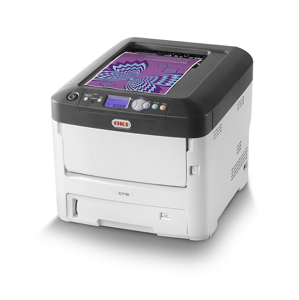 C712n - Color Printer - LED - A4 - USB / Ethernet