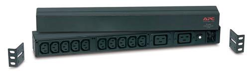 APC RACK PDU BASIC 1 U 16A 230V power distribution unit (PDU) Black