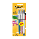 BIC 4 Colours Shine Black,Blue,Red,Green Medium 3 pc(s)