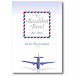 Basildon BOND AIRMAIL ENVELOPE BLUE PK20