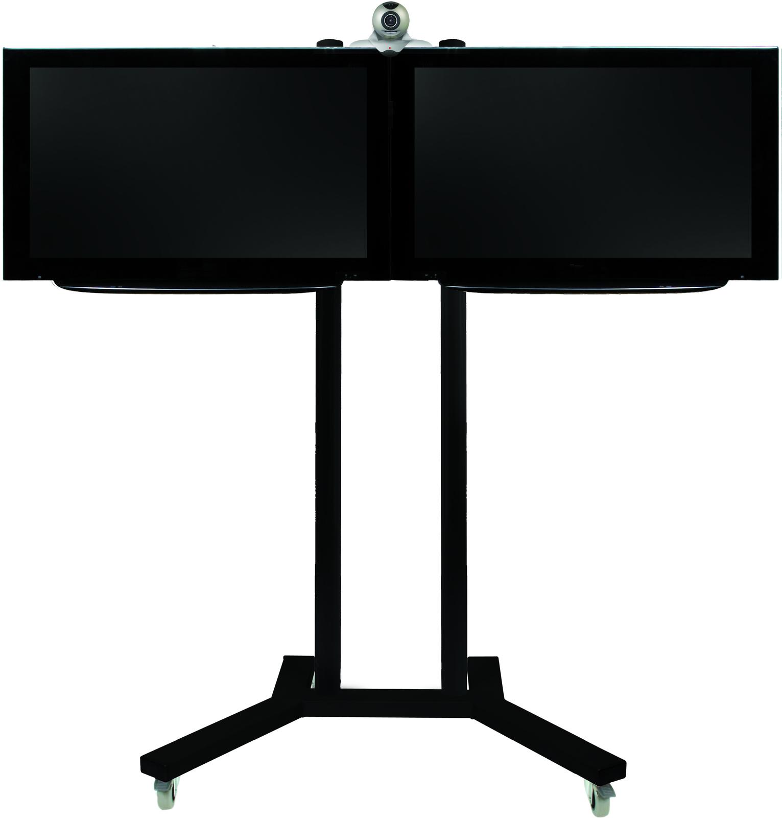 "B-Tech BT8511 106.7 cm (42"") Portable flat panel floor stand Black"