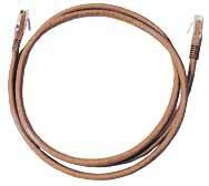 Microconnect UTP501BR networking cable 1 m Brown