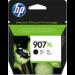 HP Cartucho de tinta Original 907XL negro de alto rendimiento
