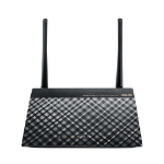 ASUS DSL-N16 wireless router Single-band (2.4 GHz) Fast Ethernet Black