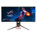 "ASUS ROG Swift PG349Q 86,7 cm (34.1"") 3440 x 1440 Pixels UltraWide Quad HD LED Koper, Titanium"