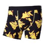 Pokémon Adult Male Dancing Pikachu All-Over Pattern Boxer Short, Extra Large, Black (ZB040541POK-XL)
