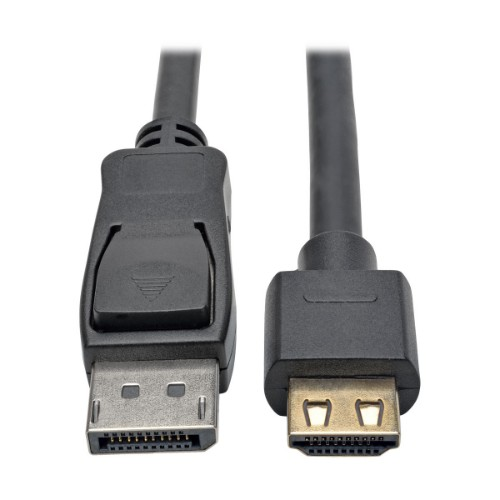 Tripp Lite DisplayPort 1.2a to HDMI Active Adapter Cable with Gripping HDMI Plug, HDMI 2.0, HDCP 2.2, 4K x 2K @ 60 Hz (M/M), 0.91 m