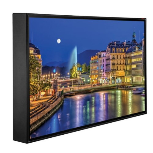 "Peerless CL-55PLC68-OB-EUK signage display 139.7 cm (55"") LCD Full HD Digital signage flat panel Black"