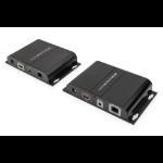 Digitus DS-55126 AV extender AV transmitter & receiver Black