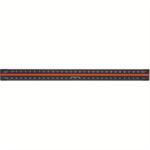 Linex ALUMINIUM TRISCALE 30CM BLACK H382