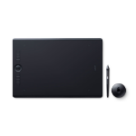 Wacom Intuos Pro graphic tablet Black 5080 lpi 311 x 216 mm USB/Bluetooth
