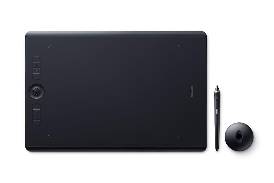 Wacom Intuos Pro graphic tablet Black 5080 lpi 311 x 216 mm USB/Bluetooth
