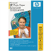 HP Advanced Glossy photo paper White Gloss