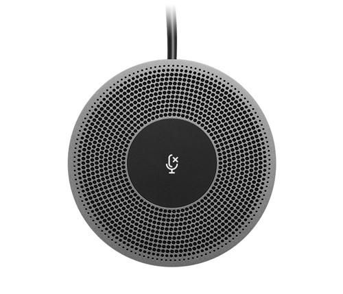 Logitech 989-000405 microphone Presentation microphone Wired Black, Grey