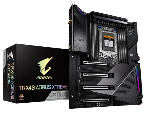 Gigabyte TRX40 AORUS XTREME motherboard sTRX4 XL-ATX AMD TRX40