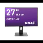 "Wortmann AG TERRA 2766W 27"" 2K Ultra HD AH-IPS Black computer monitor"