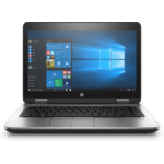 "HP ProBook 640 G3 Black, Silver Notebook 35.6 cm (14"") 1366 x 768 pixels 2.40 GHz 7th gen Intel® Core™ i3 i3-7100U"