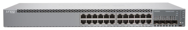 Juniper EX2300 L2/L3 Gigabit Ethernet (10/100/1000) Power over Ethernet (PoE) 1U Black