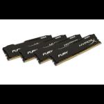 HyperX FURY Black 64GB DDR4 2400MHz Kit 64GB DDR4 2400MHz memory module