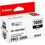 Canon 0546C001 (PFI-1000 PBK) Ink cartridge bright black, 80ml