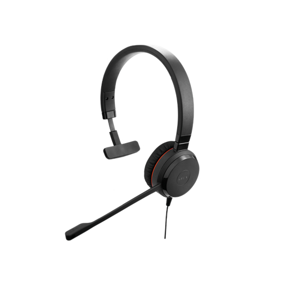 Jabra Evolve 30 II MS Mono Monaural Head-band Black headset