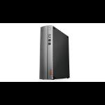 Lenovo IdeaCentre 510S DDR4-SDRAM i3-9100 SFF 9th gen Intel® Core™ i3 8 GB 1000 GB HDD Windows 10 Home PC Black, Silver