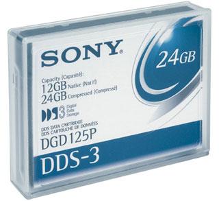 Sony DDS3 4mm data cartridge DDS 3.8 mm