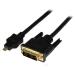 StarTech.com Adaptador Cable Conversor de 1m Micro HDMI a DVI-D para Tablet y Teléfono Móvil