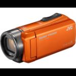 JVC GZ-R405DEU hand-held camcorder 10 MP CMOS Handheld camcorder Black,Orange Full HD