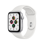 Apple Watch SE OLED 44 mm Plata GPS (satélite)