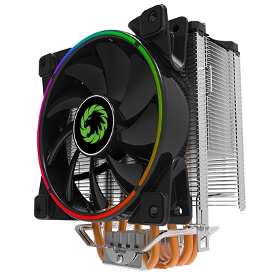GAMEMAX Gamma 500 Universal Socket 120mm PWM 1800RPM Addressable RGB LED Fan CPU Cooler with Wired A