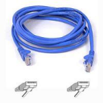 Belkin CAT 5 PATCH CABLE 5m Blue networking cable
