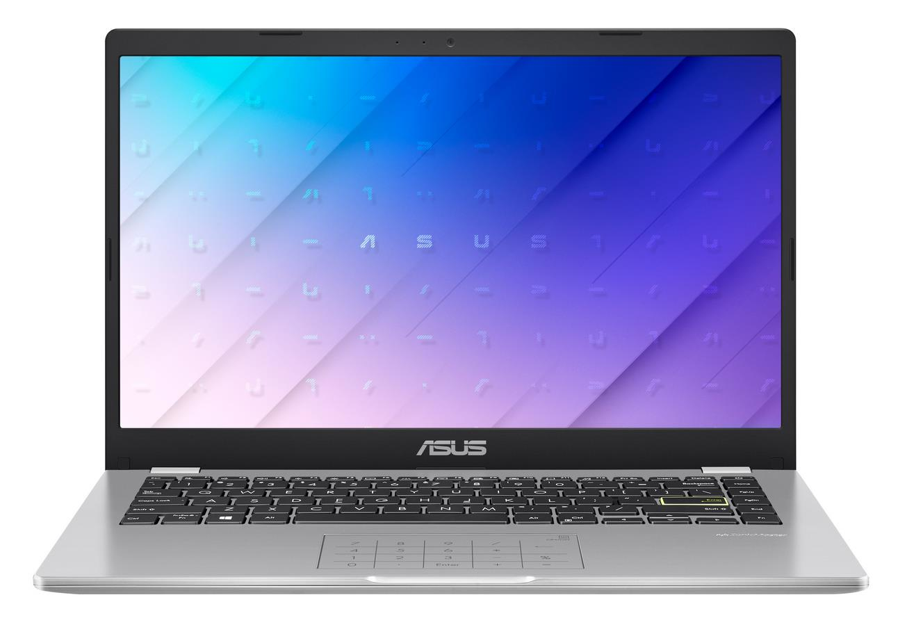 "ASUS E410MA-BV037TS notebook White 35.6 cm (14"""") 1366 x 768 pixels Intel® Celeron® N 4 GB DDR4-SDRAM 64 GB eMMC Wi-Fi 5 (802.11ac) Windows 10 Home S"