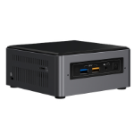 Intel BOXNUC7I7BNH PC/workstation barebone i7-7567U 3.5 GHz Black